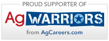 Proud supporters of AgWarriors from Agcareers.com