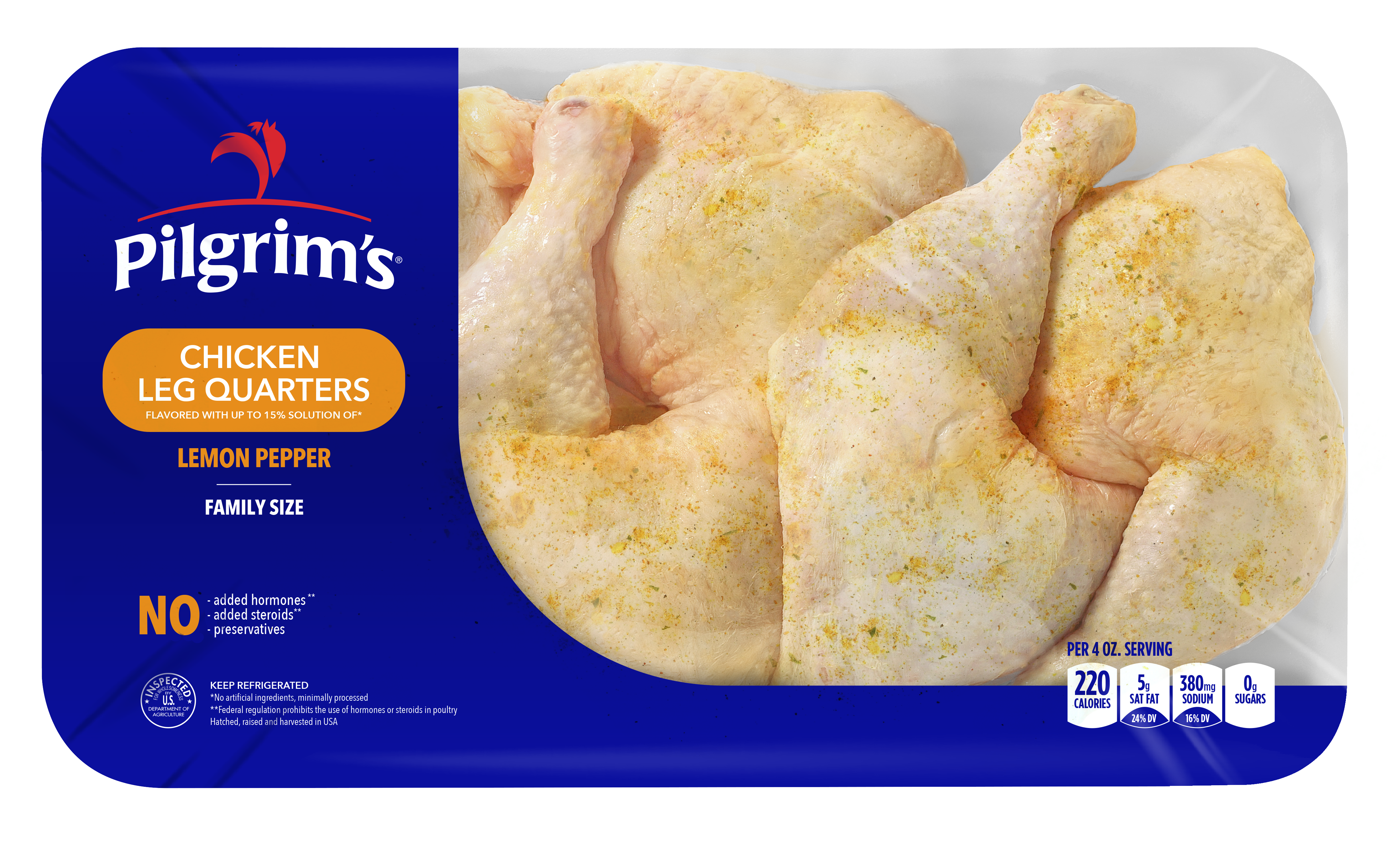 Pilgrim's Lemon Pepper Leg Quarters