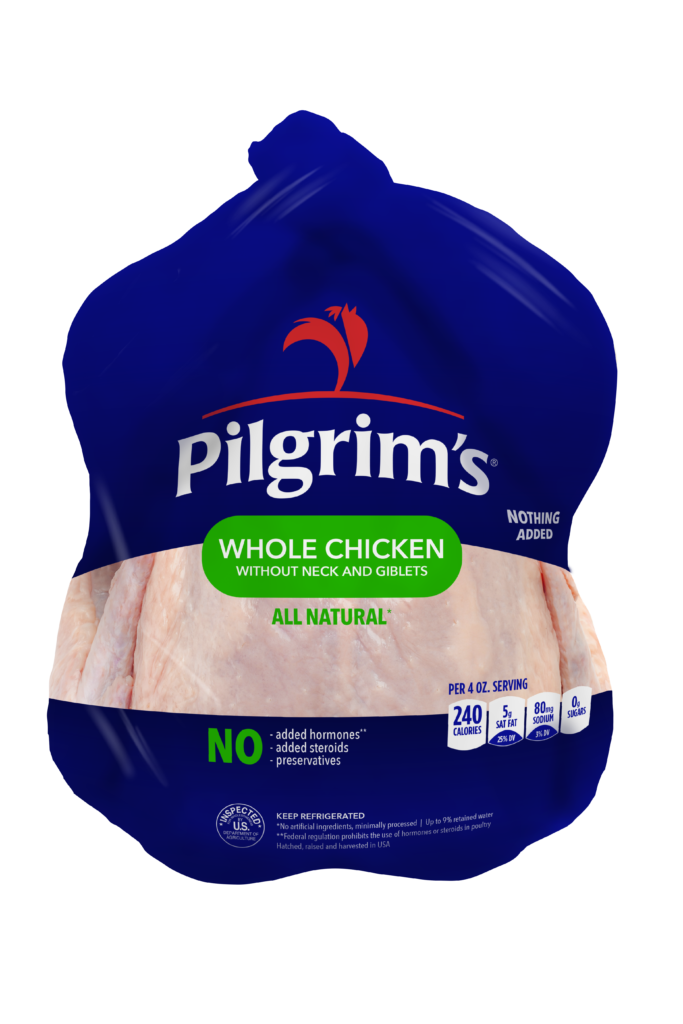 Whole Chicken (without necks and giblets)