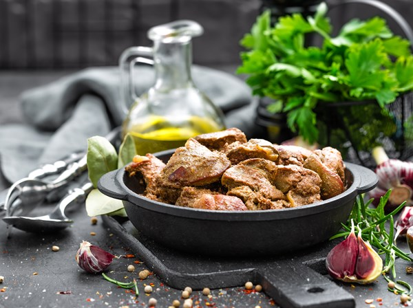Chicken Livers (100% Natural) Cooked