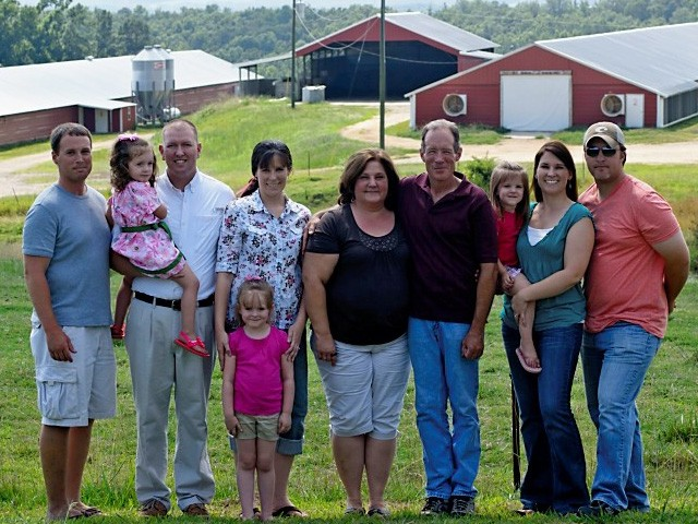 Galloway Poultry Farm owners