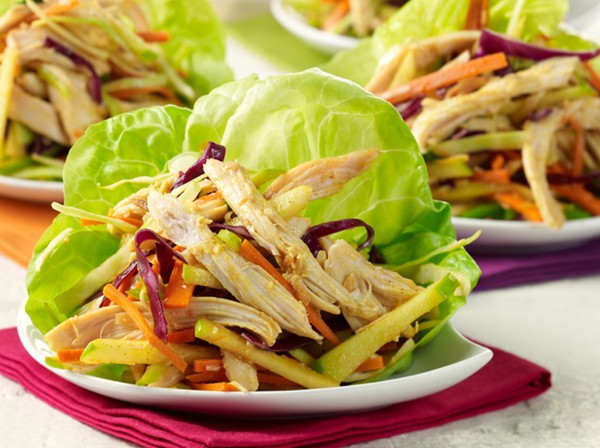 Image for Ginger-Curry Chicken Lettuce Wraps