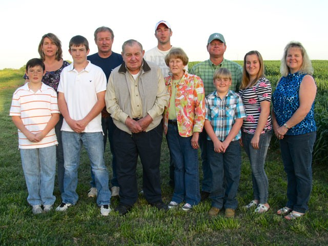 Huneycutt Brothers Farm family